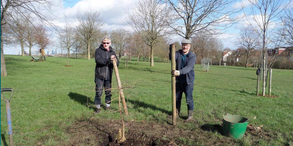 Tree planting in Lewisham